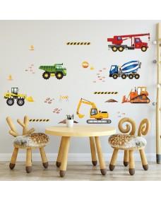 Wallstickers -  Akvarell kjøretøy